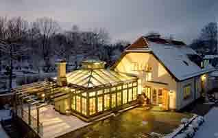 wintergarten isoliert